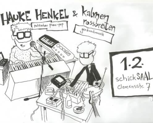 """""""Kalmen Rossbreiten"""" & """"Hauke Henkel"""" 1"""