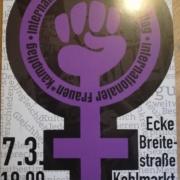 Internationaler Frauen*kampftag - FLTI* Kneipe/OpenMic 2