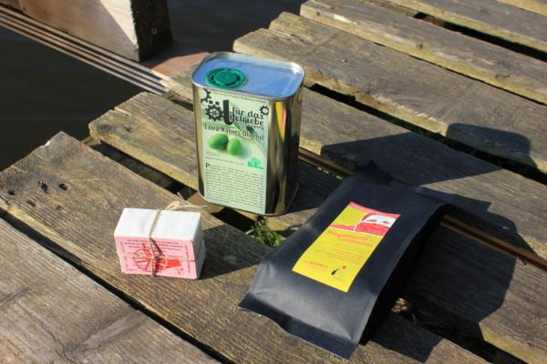 SOLI-Mixpaket (Espresso + Seife + Öl) 1